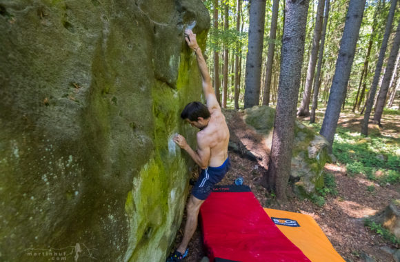 Bouldering u Držkové